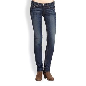 Rag and Bone Cigarette Distressed Skinny Jeans
